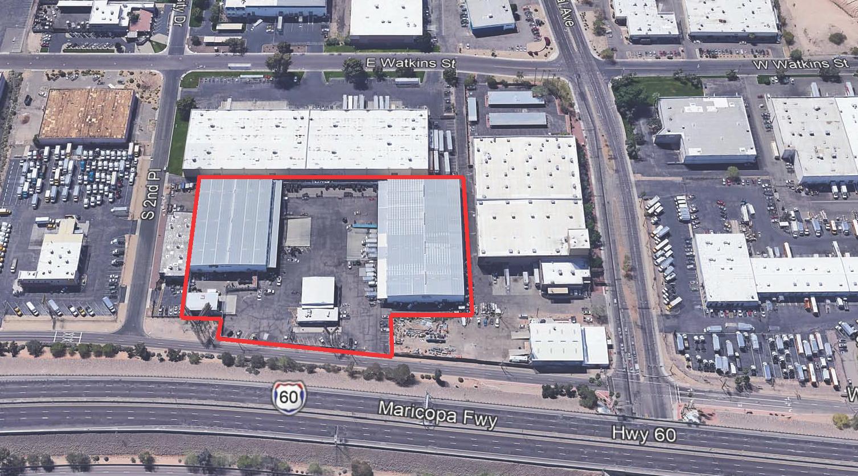 111 Maricopa Aerial Image
